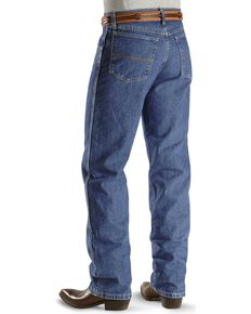 """Wrangler 20X Jeans - No. 23 Relaxed Fit - 38"""" Tall Inseam, Vintage Blue, hi-res"""