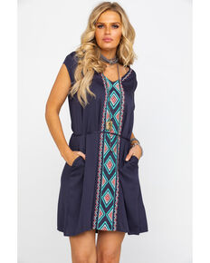 Ariat Women's Mirage Dress, Dark Grey, hi-res