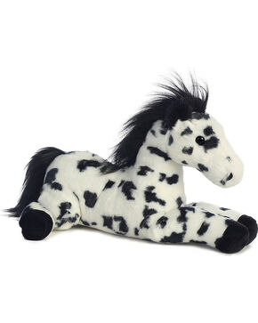 Aurora Black Spotted Flopsie Horse , Multi, hi-res