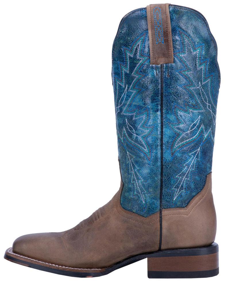 Dan Post Women's Pasadena Western Boots - Wide Square Toe, Sand, hi-res