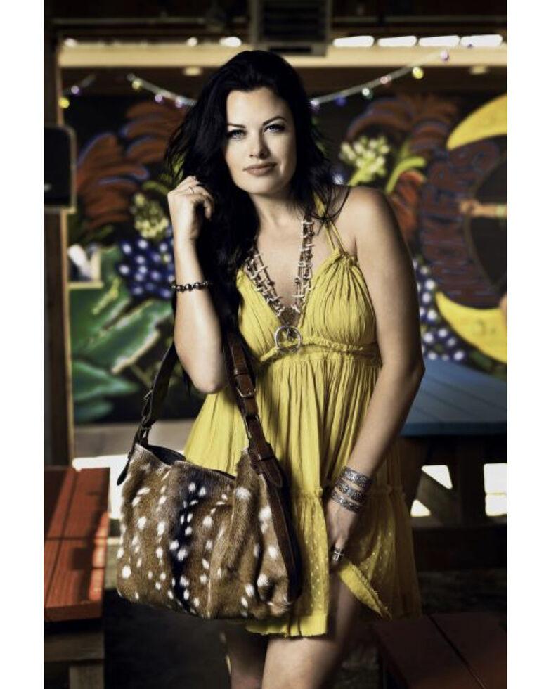 Juan Antonio Women's Antelope Brown Handbag, Brown, hi-res