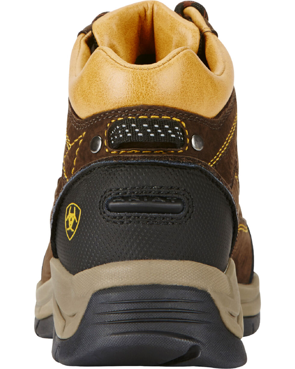 Ariat Women's Java Terrain Pro H20 Boots - Round Toe, Coffee, hi-res