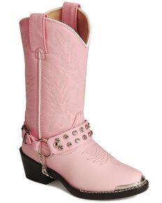 Durango Girls' Harness Boots, Pink, hi-res