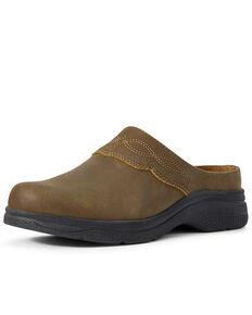 Ariat Women's Bridgeport Mule Bomber Shoes, Brown, hi-res