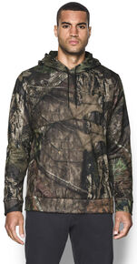 Under Armour Men's Franchise Camo Hoodie, Mossy Oak, hi-res