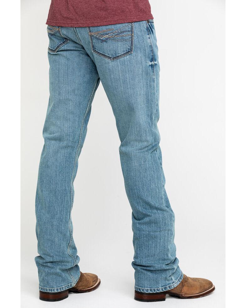 Wrangler 20X Men's No. 42 Light Vintage Stretch Slim Bootcut Jeans - Long , Blue, hi-res