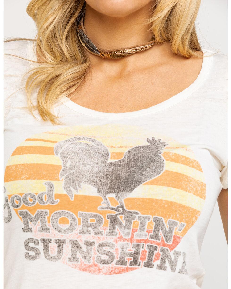 Idyllwind Women's Good Morning Sunshine Trustie Tee, Ivory, hi-res
