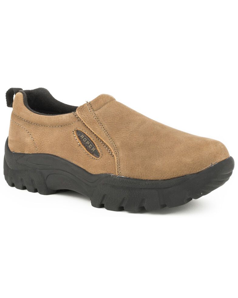 Roper Classic Slip On Casual Shoes, Brown, hi-res