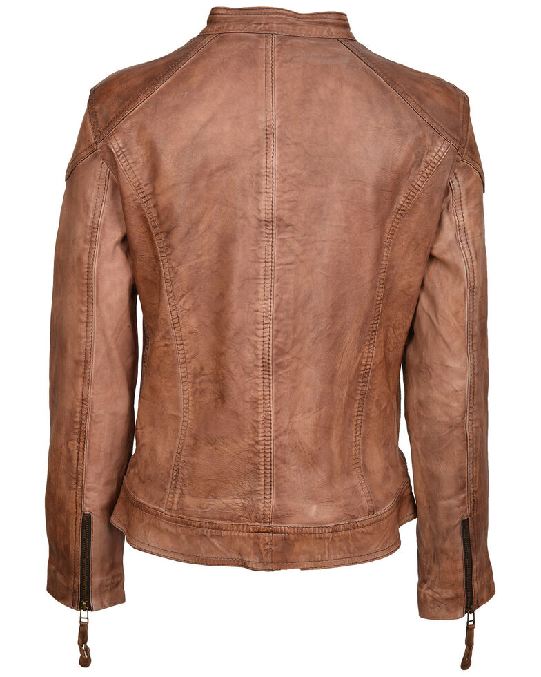 STS Ranchwear Women's Vienna Leather Jacket, Brown, hi-res