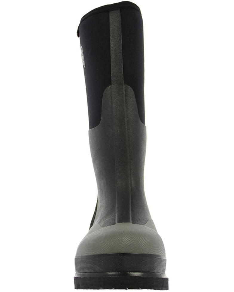 Bogs Men's Rancher Black Insulated Work Boots - Steel Toe, Black, hi-res