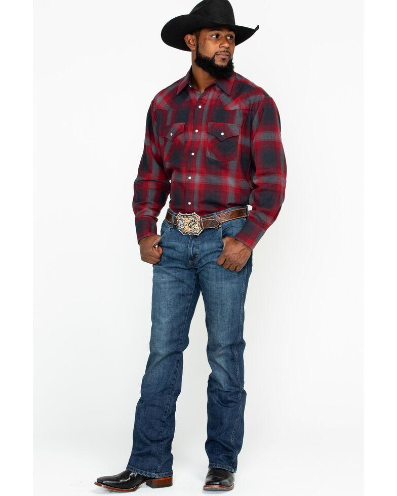 Wrangler Retro Men's Hale Relaxed Boot Cut Jeans, Blue, hi-res