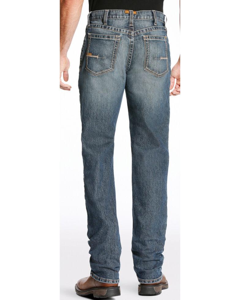 Ariat Men's Rebar M3 Edge Jeans - Straight Leg, Blue, hi-res