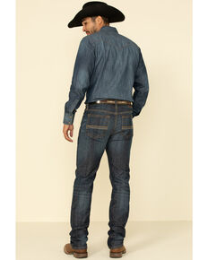 Cody James Men's Night Hawk Basic Medium Wash Stretch Slim Straight Jeans , Blue, hi-res