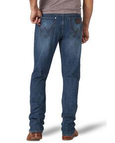 Wrangler Retro Men's Shreveport Stretch Slim Straight Jeans , Blue, hi-res
