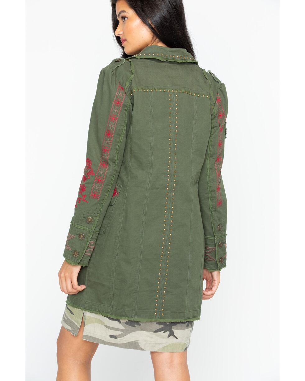 Tasha Polizzi Women's Jackson Coat , Olive, hi-res