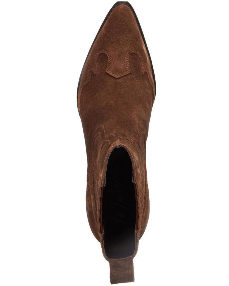 Matisse Women's Avery Brown Fashion Booties - Snip Toe, Brown, hi-res