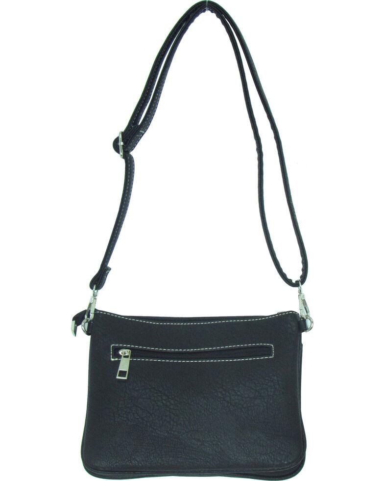 Savana Women's Faux Leather Distressed Crossbody Bag , , hi-res