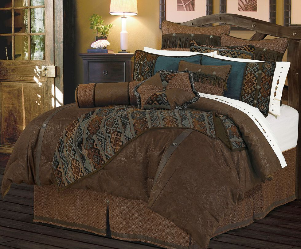 HiEnd Accents Del Rio Queen Bedding Set, Multi, hi-res