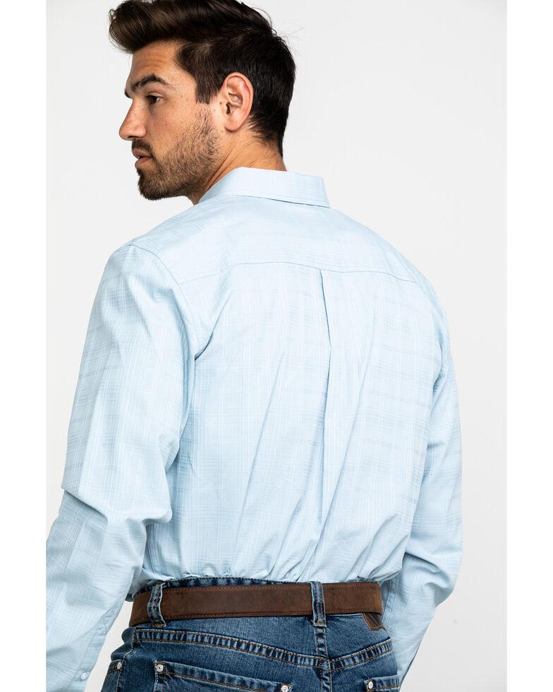 Cody James Core Men's Stampede Solid Long Sleeve Western Shirt , Light Blue, hi-res