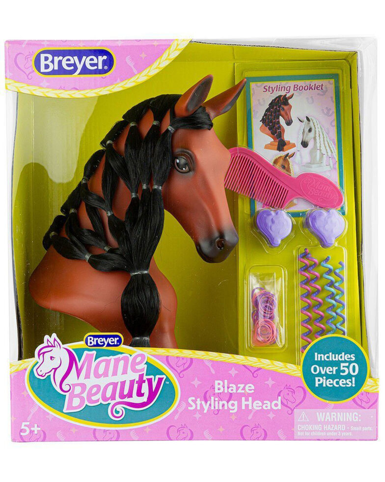 Breyer Girls' Mane Beauty Blaze Styling Head, No Color, hi-res