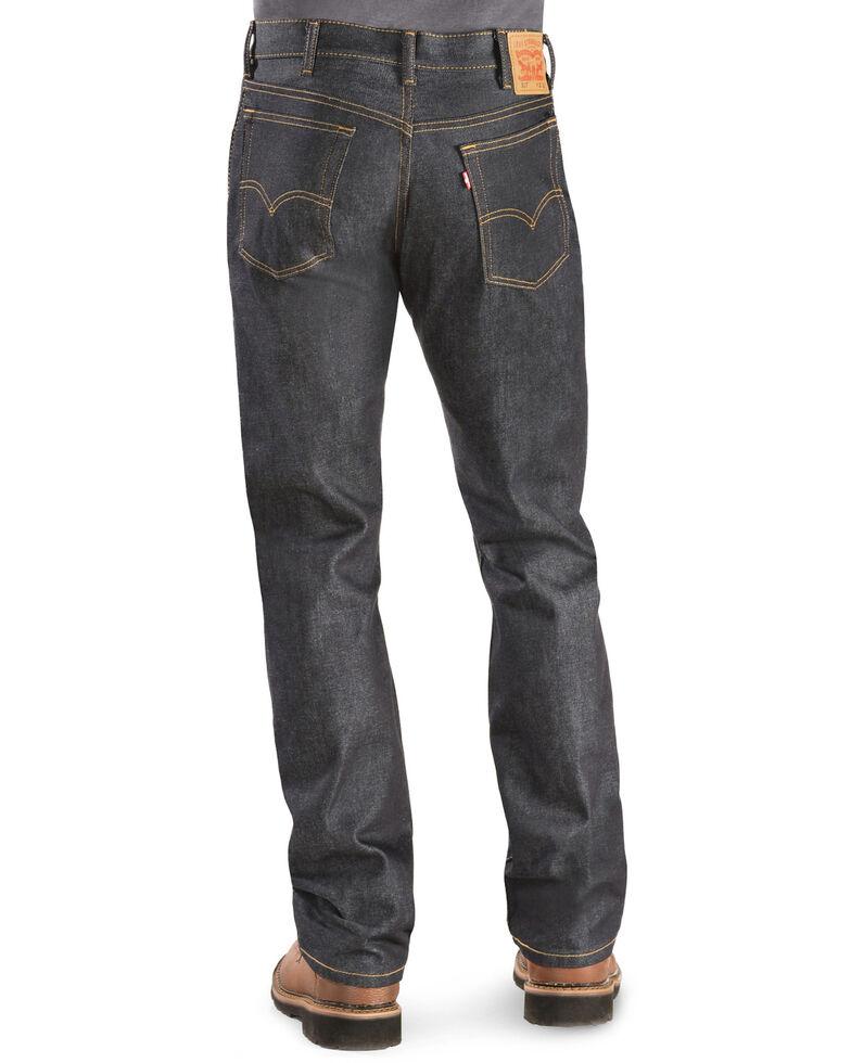 Levi's Men's 517 Rigid Low Slim Boot Cut Jeans , Indigo, hi-res
