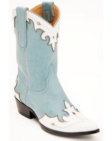 Idyllwind Women's Bluebelle Western Boots - Snip Toe, Blue, hi-res