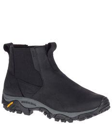 Merrell Men's MOAB Adventure Waterproof Hiking Boots - Soft Toe, Black, hi-res