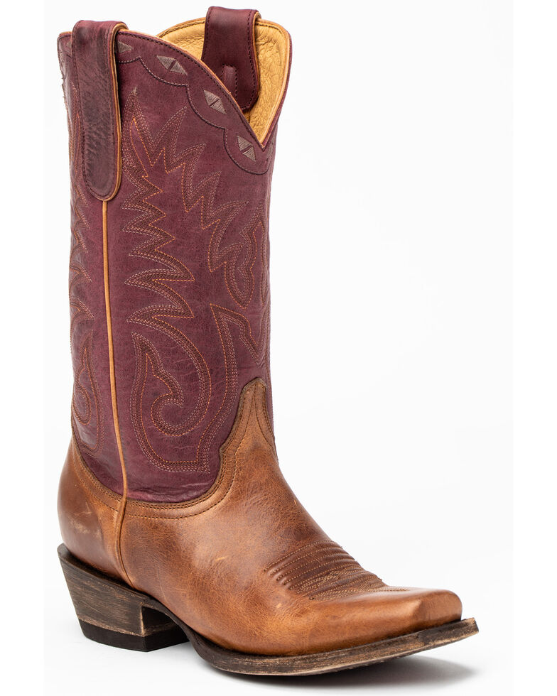 Idyllwind Women's Spur Performance Western Boots - Narrow Square Toe, Brown, hi-res