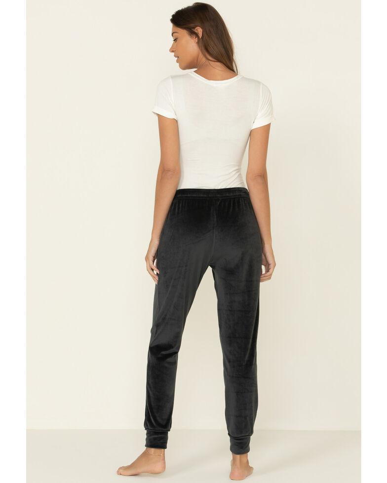 Z Supply Women's Velour Pants, Dark Grey, hi-res