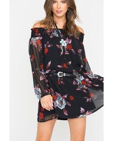 0e9357f1932 Shyanne Black Off-Shoulder Belted Dress