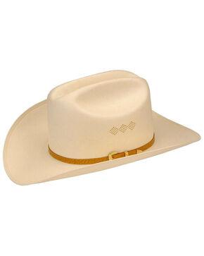 Larry Mahan Men's 15X El Primero Straw Cowboy Hat, Ivory, hi-res