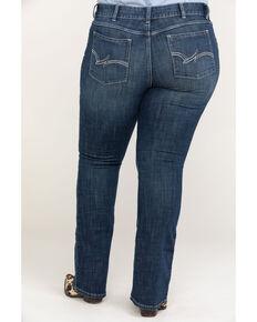 ac8007f37 Wrangler Women's Dark Wash Boot Cut Jeans - Plus