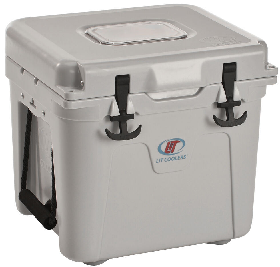 LiT Firefly TS-300 Grey Cooler - 22 Quart, Grey, hi-res