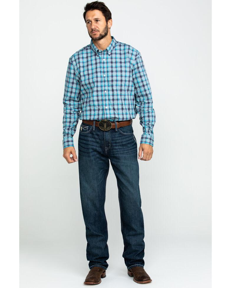 Cinch Men's Sawyer Rinse Loose Boot Jeans , Indigo, hi-res
