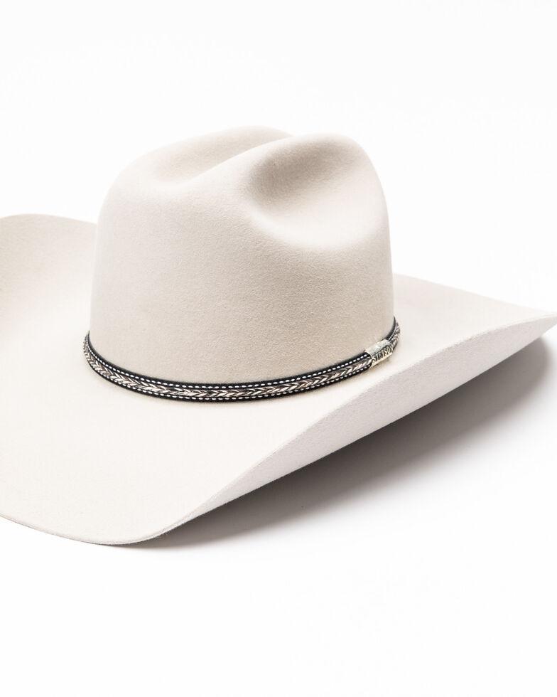 Stetson Men's 6X Grey Star Felt Western Hat , Grey, hi-res