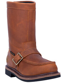 Dan Post Men's Covey Waterproof Western Boots - Moc Toe, Brown, hi-res