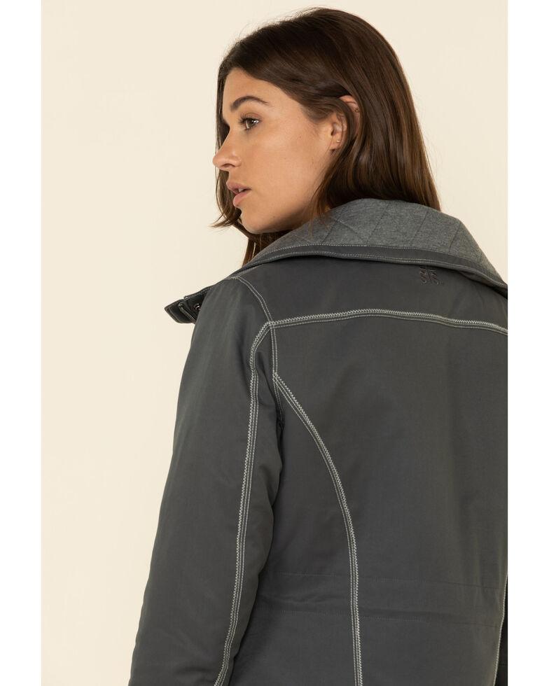 STS Ranchwear Women's Grey Swayzi Work Coat, Grey, hi-res