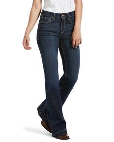 Ariat Women's Ella Trouser Jeans, Blue, hi-res
