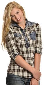2b053616 White Crow Women's Stardust Plaid Shirt