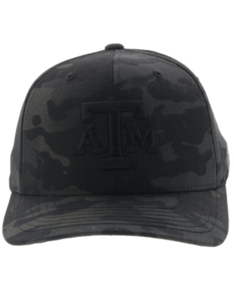 HOOey Men's Camo Texas A&M Logo Flex Fit Cap , Multi, hi-res