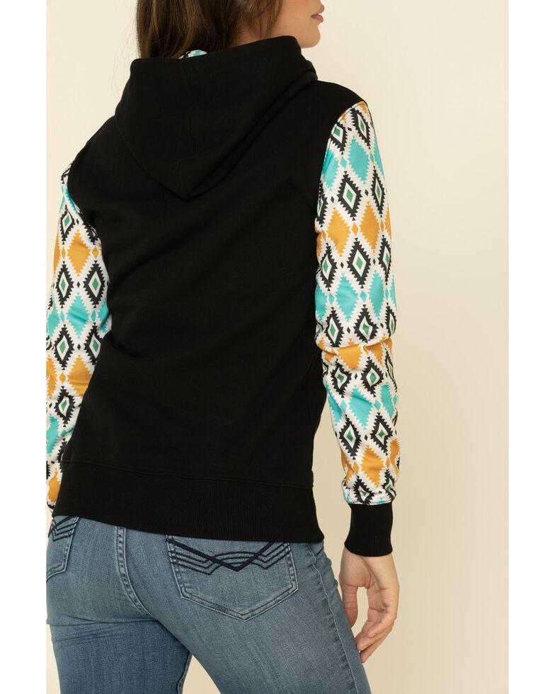 HOOey Women's Prickly Pear Hoodie Sweatshirt, Black, hi-res