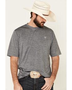 Ariat Men's Rock Climb Eagle Graphic Charger T-Shirt , Grey, hi-res
