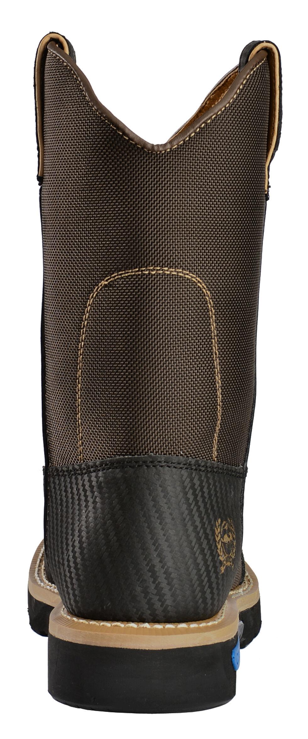 Cinch Men's Waterproof Work Boots - Ceramic Safety Toe, Brown, hi-res