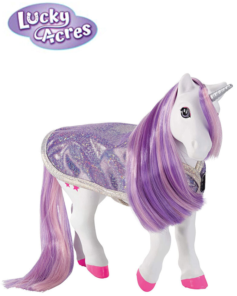 Breyer Girls' Luna Bath Time Unicorn, No Color, hi-res