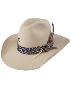 Charlie 1 Horse Women's 5X Old Hag Bone Wool Felt Western Hat , Natural, hi-res