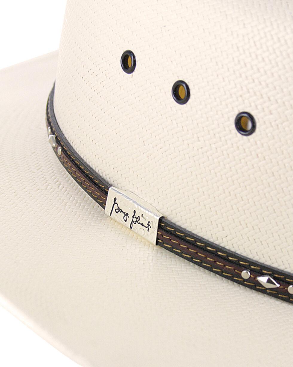 Resistol George Strait Men's Kingman 10X Straw Cowboy Hat, Natural, hi-res