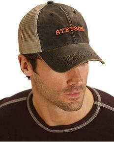 Stetson Men's Brown Trucker Baseball Cap , Brown, hi-res