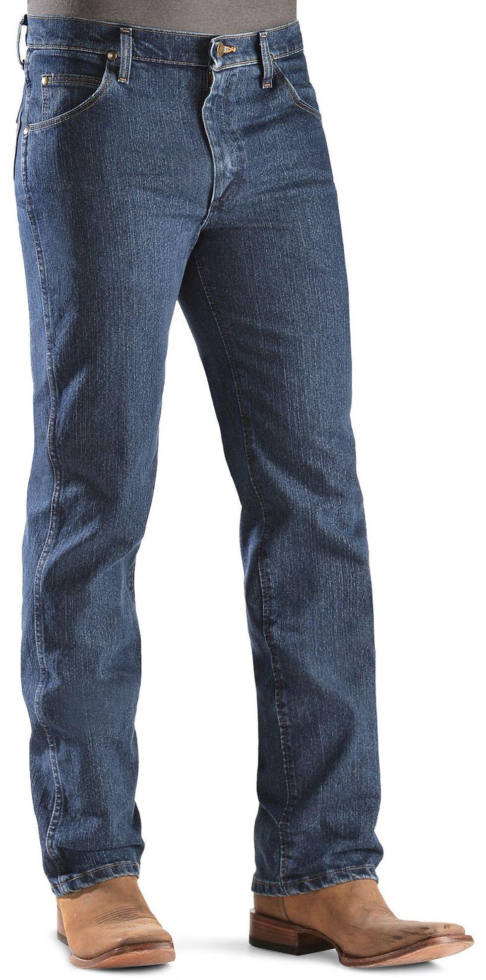 Wrangler Advanced Comfort Slim Fit Jeans - Reg, Dark Denim, hi-res
