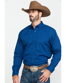 Ariat Men's Groton Multi Print Long Sleeve Western Shirt - Tall , Multi, hi-res