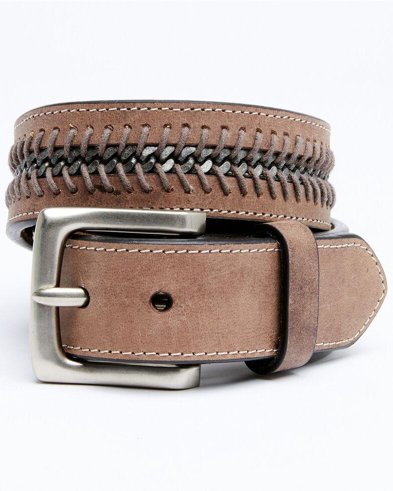 Moonshine Spirit Men's Center Chain Belt, Brown, hi-res